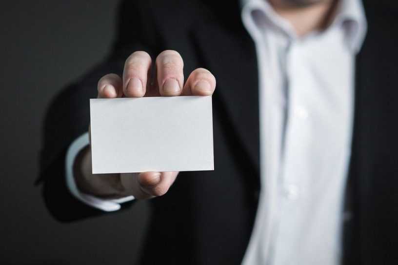 Toon je van je mooiste kant met deze visitekaartjes